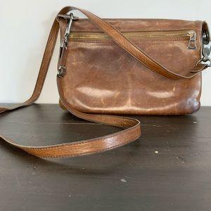 Rudsak leather crossbody purse with builtin wallet